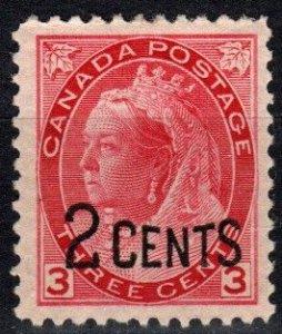 Canada #88  F-VF Unused CV $32.50 (X2506)