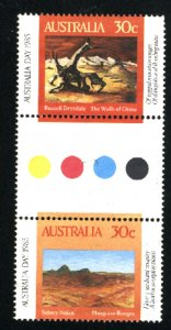Australia 943a   Pair   used  1985 PD