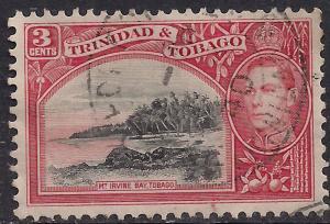 Trinidad & Tobago 1938 - 44 KGV1 3cts Mt Irvine Bay SG 248  ( L1393 )