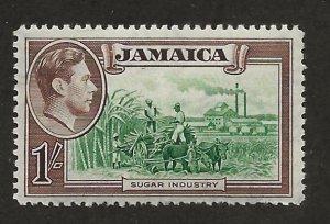 JAMAICA SC# 125  FVF/MNH