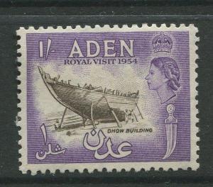 STAMP STATION PERTH Aden #62 - QEII Definitive Issue 1954  MLH  CV$0.65.