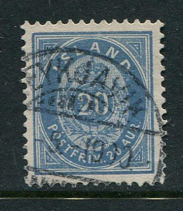 Iceland #28a Used