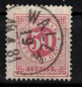 Sweden - SG 25c - 50ö Ringtyp perf. 13 CV 8.75£ (approx 10€)