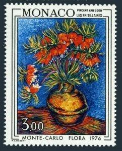Monaco 1022,MNH.Michel 1224. Fritillaria by Vincent van Gogh.Flower Show 1976.