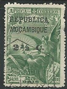 Mozambique + Scott # 206 - Used