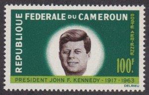 Cameroun # C52, John F. Kennedy Memorial, NH 1/2 Cat.
