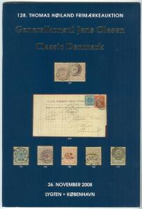 DENMARK CLASSIC STAMPS & COVERS - OLESEN COLL. 2008