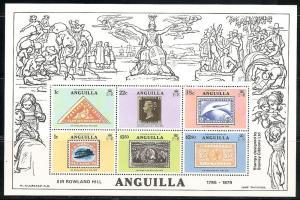Anguilla 354a 1979 Rowland Hill s.s. MNH