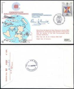 RFDC48b FDI Commonwealth Parliamentary Conference Signed By The Lord Erskine (A)