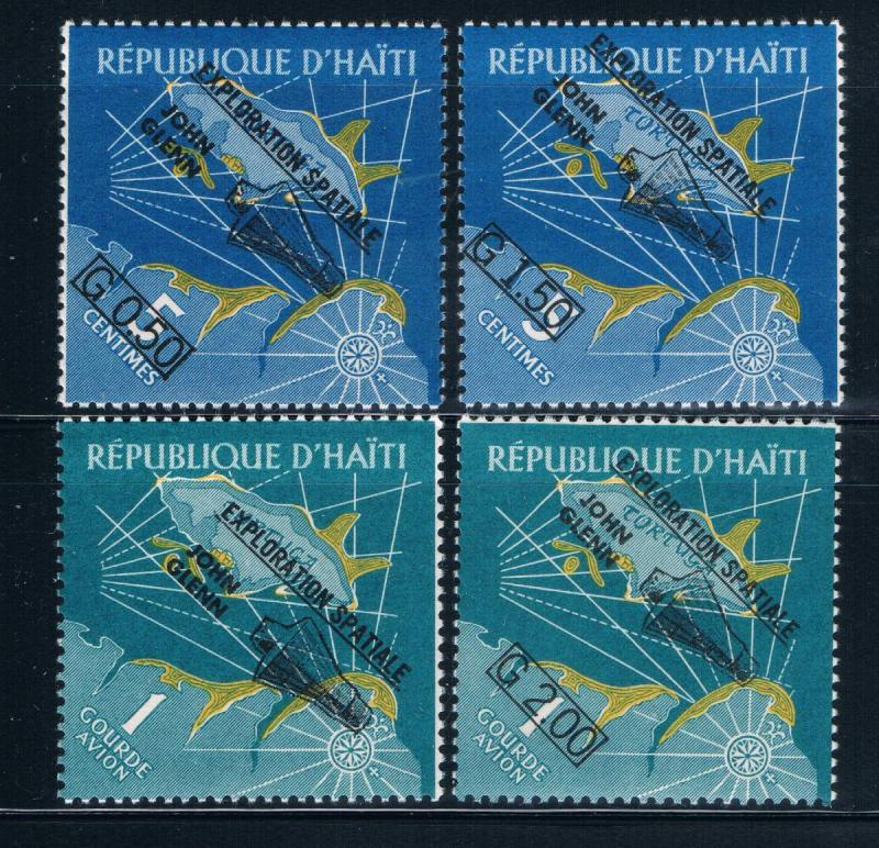 Haiti 484-85;C186-87 MNH set Space Exploration  (H0046)