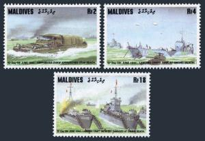 Maldive Isls 2003-2005,2006,MNH.Michel 2239-2242. WW II,D-Day 50th Ann.1994