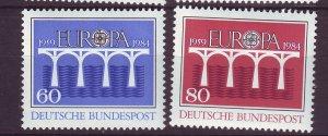 J24576 JLstamps 1984 germany set mnh #1415-6 europa