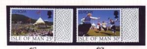 Isle of Man Sc 786-7 1998 Europa stamp set mint NH
