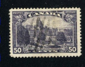 Canada #226   used   VF  PD