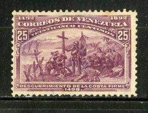 VENEZUELA 136  MNG SCV $11.00 BIN $4.25 MILITARY