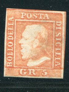Italy  Sicily #15  Mint F-VF NH   - Lakeshore Philatelics