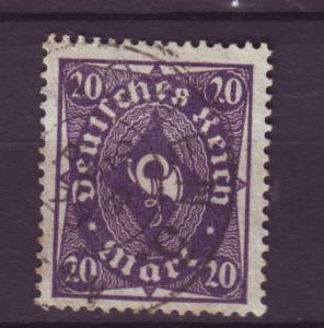 J8391 JL stamps @20% 1922-3 germany used #191 $1.50v wmk 126