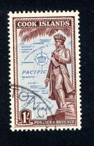 Cook Islands, Scott 138, VF, Used   ........ 1500096