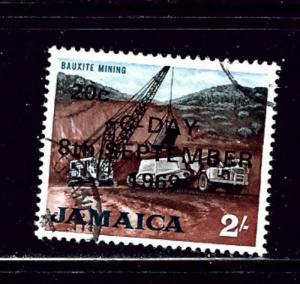 Jamaica 287 Used 1969 overprint