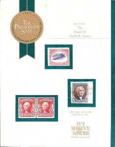 Ivy, Shreve & Mader:    The 1993 President's Sale featuri...