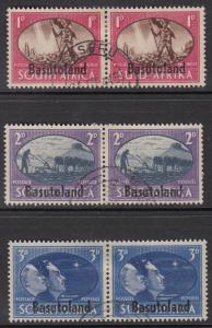 Basutoland 29-31 Used CV $2.60