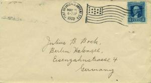 United States Washington Bicentennia 5c Washington Bicentennial 1933 East Ora...