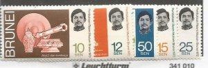 Brunei Scott #171-5*nh  (1972)