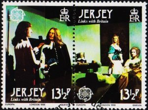 Jersey. 1980 13 1/2p(Pair) S.G.228/229 Fine Used