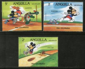 Anguilla Walt Disney Animation Cartoon Film Mickey Mouse Donald Duck Los Ange...