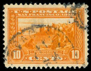MOMEN: US STAMPS #400A USED PSE GRADED CERT XF-SUP 95