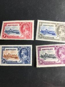 Basutoland #11-4 Mint VF Moderate to LH 2016 Cat. $12.10 1935 Silver JubileeCpl