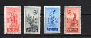 Belgium B455-B458 Mint  LH  CV $17