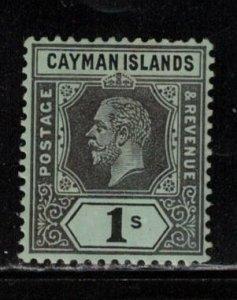 CAYMAN ISLANDS Scott # 46 MH - KGV Definitive