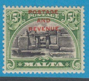 MALTA 165  MINT  HINGED OG * NO FAULTS EXTRA FINE !
