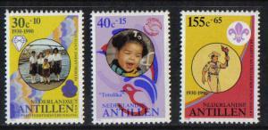 Netherlands Antilles 1990 MNH Cultural welfare complete