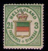 Heligoland Sc 20 MNH Very Fine,Og Mint No Hinge