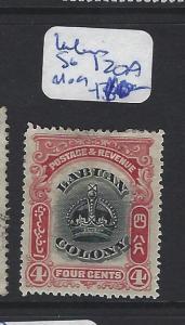 LABUAN   (PP2807B)  CROWN  4C  SG 120A    MOG