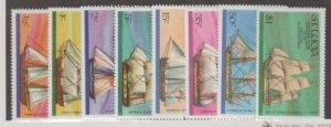 St. Lucia Scott #379-386 Stamps - Mint NH Set