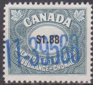 Canada Revenue Unemployment Insurance (ST722)