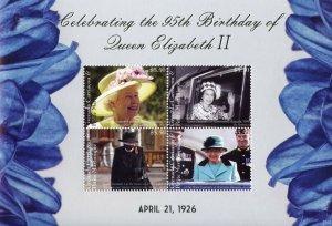 Grenadines Grenada Royalty Stamps 2021 MNH Queen Elizabeth II 95th Bday 4v M/S