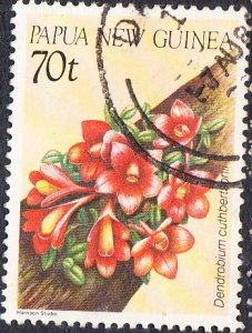 Papua New Guinea  #654  Used