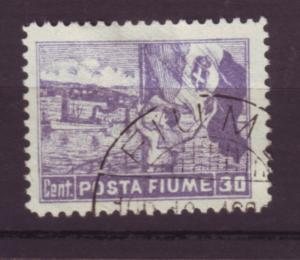 J20052 jlstamps 1919 fiume used #48 sailor