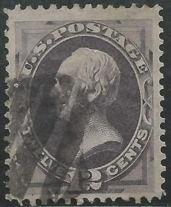 US Scott #151 VF Used 12c Banknote Sound Stamp CV $220