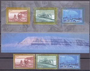 Norway. 2006. 1578-80 bl31. Arctic. MNH.