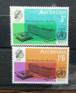 Ascension Island WHO World Health Organisation set MNH