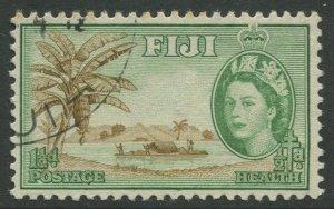 STAMP STATION PERTH Fiji #B3 QEII Semi Postal Issue Used 1954 CV$0.40