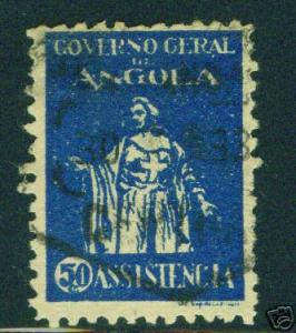 Angola Scott RA4 used stamp  CV $1.25