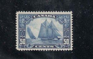 CANADA (MKKKKS56) # 158 VF-MLH 50cts BLUENOSE CAT VALUE $350