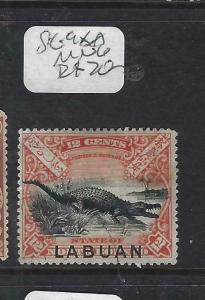 LABUAN (P1303B)  12C CROCODILE  SG 98A   MNG