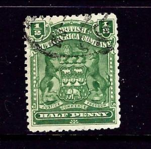 Rhodesia 59 Used 1898 issue